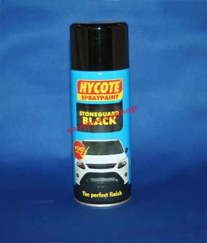 Stoneguard Car Stone Chip Protection Black Spray Paint Hycote 400ml Aerosol